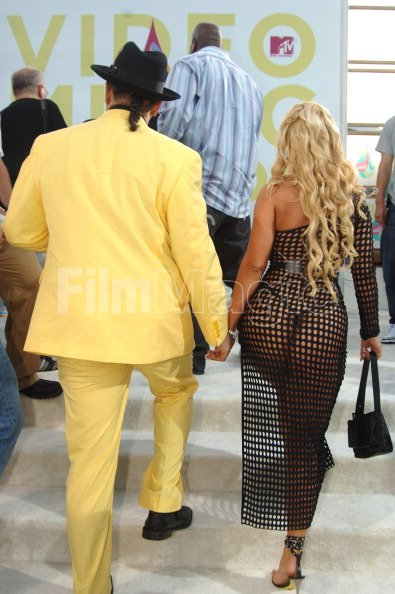 Ice T And Coco During 2005 Mtv Video Music Awards White