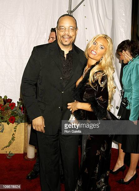 IceT and Coco during Royal Birthday Ball for Sean 'P Diddy' Combs Arrivals at Cipriani's in New York City New York United States