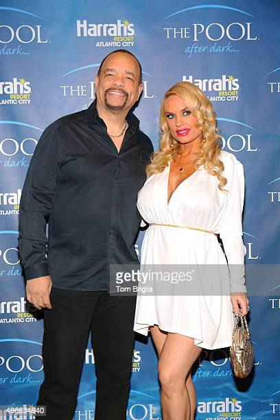 IceT And Coco hosted and performed at The Pool After Dark at Harrah's Resort on Saturday November 07 2015 in Atlantic City New Jersey
