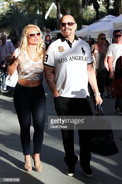 IceT and Coco sighted on February 13 2011 in Miami Florida