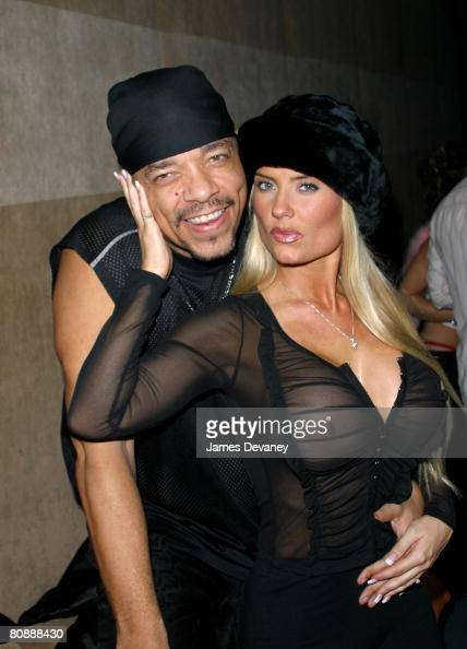 IceT and fiancee Coco