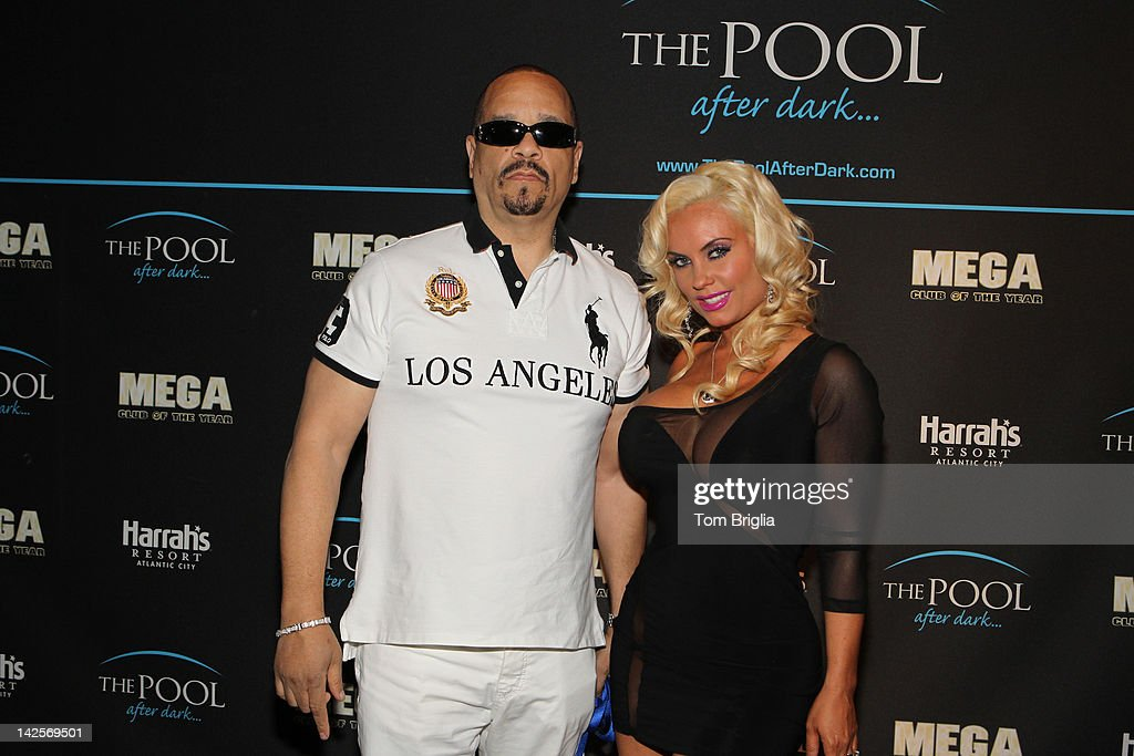 <a gi-track='captionPersonalityLinkClicked' href=/galleries/search?phrase=Ice-T&family=editorial&specificpeople=213017 ng-click='$event.stopPropagation()'>Ice-T</a> and Nicole 'Coco' Austin host The Pool After Dark at Harrah's Atlantic City on Saturday April 7, 2012 In Atlantic City New Jersey.