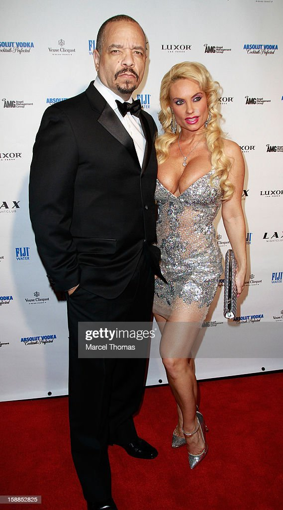 Ice-T and wife Nicole 'Coco' Austin host New Year's Eve at LAX nightclub on December 31, 2012 in Las Vegas, Nevada.