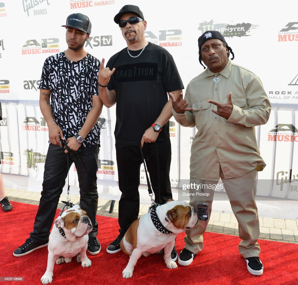<a gi-track='captionPersonalityLinkClicked' href=/galleries/search?phrase=Ice-T&family=editorial&specificpeople=213017 ng-click='$event.stopPropagation()'>Ice-T</a> attends the 2014 Gibson Brands AP Music Awards at the Rock and Roll Hall of Fame and Museum on July 21, 2014 in Cleveland, Ohio.