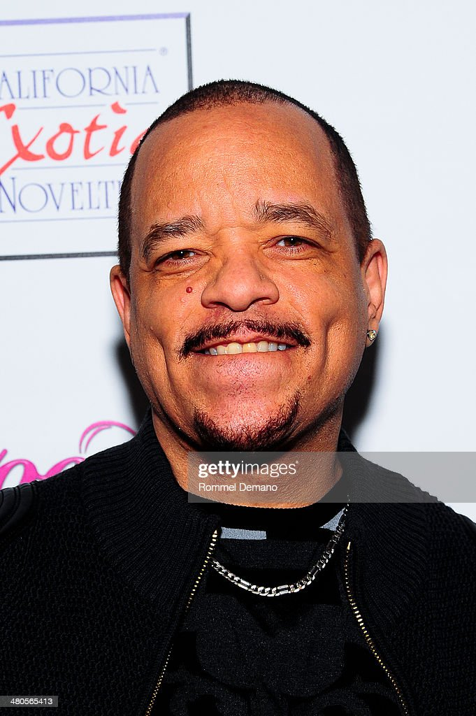 <a gi-track='captionPersonalityLinkClicked' href=/galleries/search?phrase=Ice-T&family=editorial&specificpeople=213017 ng-click='$event.stopPropagation()'>Ice-T</a> attends the 'Coco Licious' Collection Launch at The Raven on March 25, 2014 in New York City.