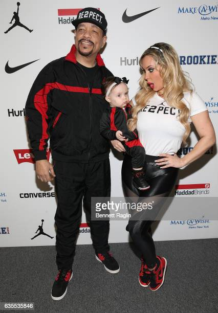 IceT Chanel and Coco attend the Rookie USA Fashion Show during New York Fashion Week at Skylight Clarkson Sq on February 15 2017 in New York City
