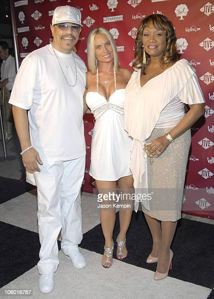 IceT Coco and Patti LaBelle during Kelis And VH1 Soul Present The Summer of Soul Party August 1 2006 at Crobar in New York City New York United States