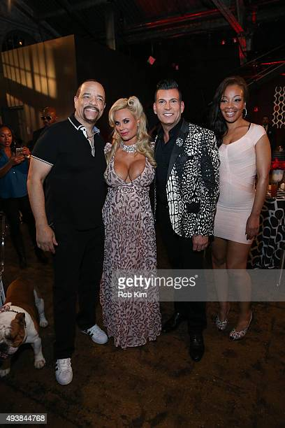 IceT Coco David Tutera and Letesha Marrow attend David Tutera's CELEBrations IceT Coco's PreBirthday Party For Baby Chanel at Cedar Lake Events on...