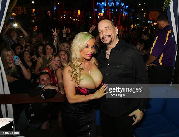 IceT Coco host The Pool After Dark Harrah's Atlantic City on Saturday March 12 2016 in Atlantic City United States