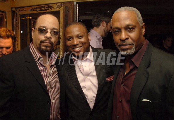Ice T guest and James...