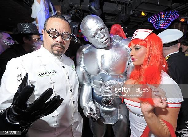 IceT Seal and Coco attend the Heidi Klum's Halloween Party presented by AOL and Absolut Vodka at Lavo on October 31 2010 in New York City