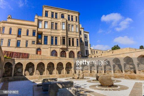 Ichari Shahar old town Baku Azerbaijan archeology display