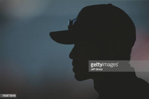 Ichiro Suzuki of Japan and right fielder for the Seattle Mariners during the Major League Baseball American League West game against the Seattle...