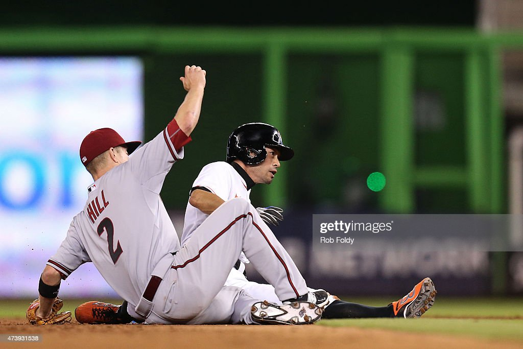 Arizona Diamondbacks v Miami Marlins