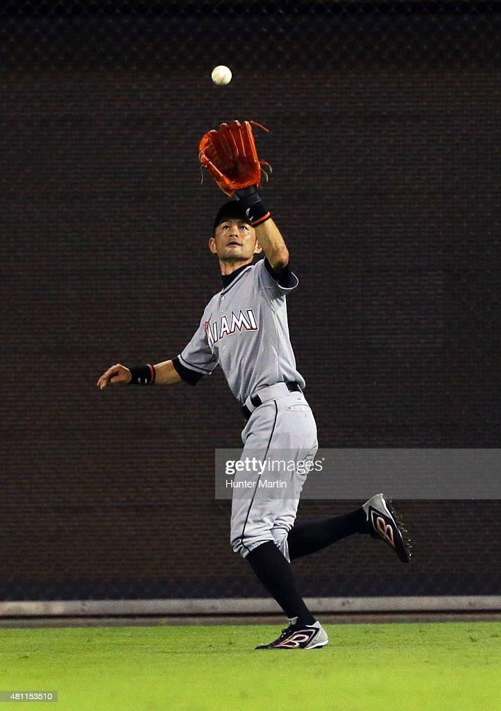Ichiro Suzuki Catch