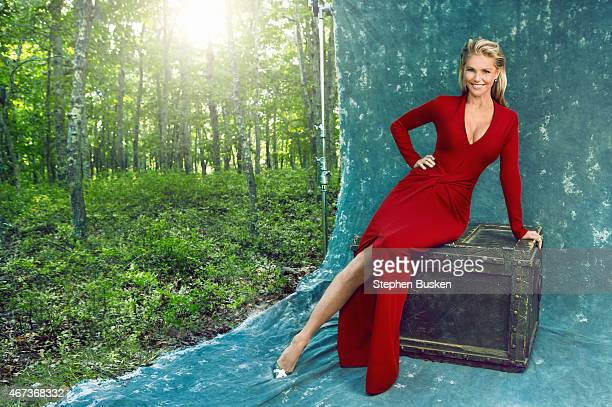 Icon and model Christie Brinkley is photographed for New York Moves on September 19 2014 in Bridgehampton New York