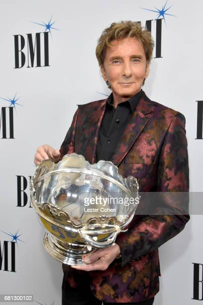 Icon Award recipient Barry Manilow at the Broadcast Music Inc honors Barry Manilow at the 65th Annual BMI Pop Awards on May 9 2017 in Los Angeles...