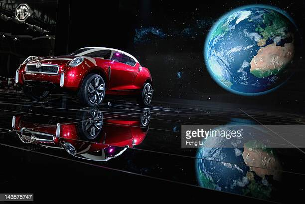 Icon car is displayed during the 2012 Beijing International Automotive Exhibition at China International Exhibition Center on April 29 2012 in...