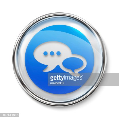 Icon - Chat : Stock Photo