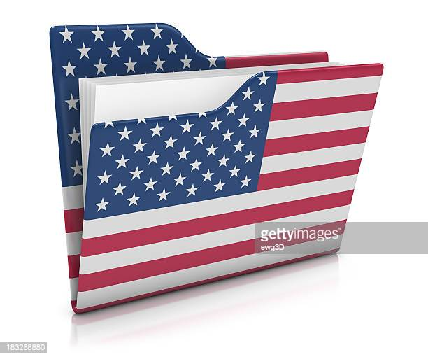 Icon Folder - USA Flag