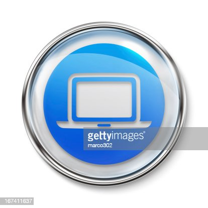 Icon - Laptop : Stock Photo