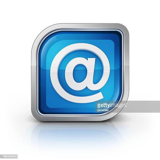 Icône du symbole de courrier électronique à