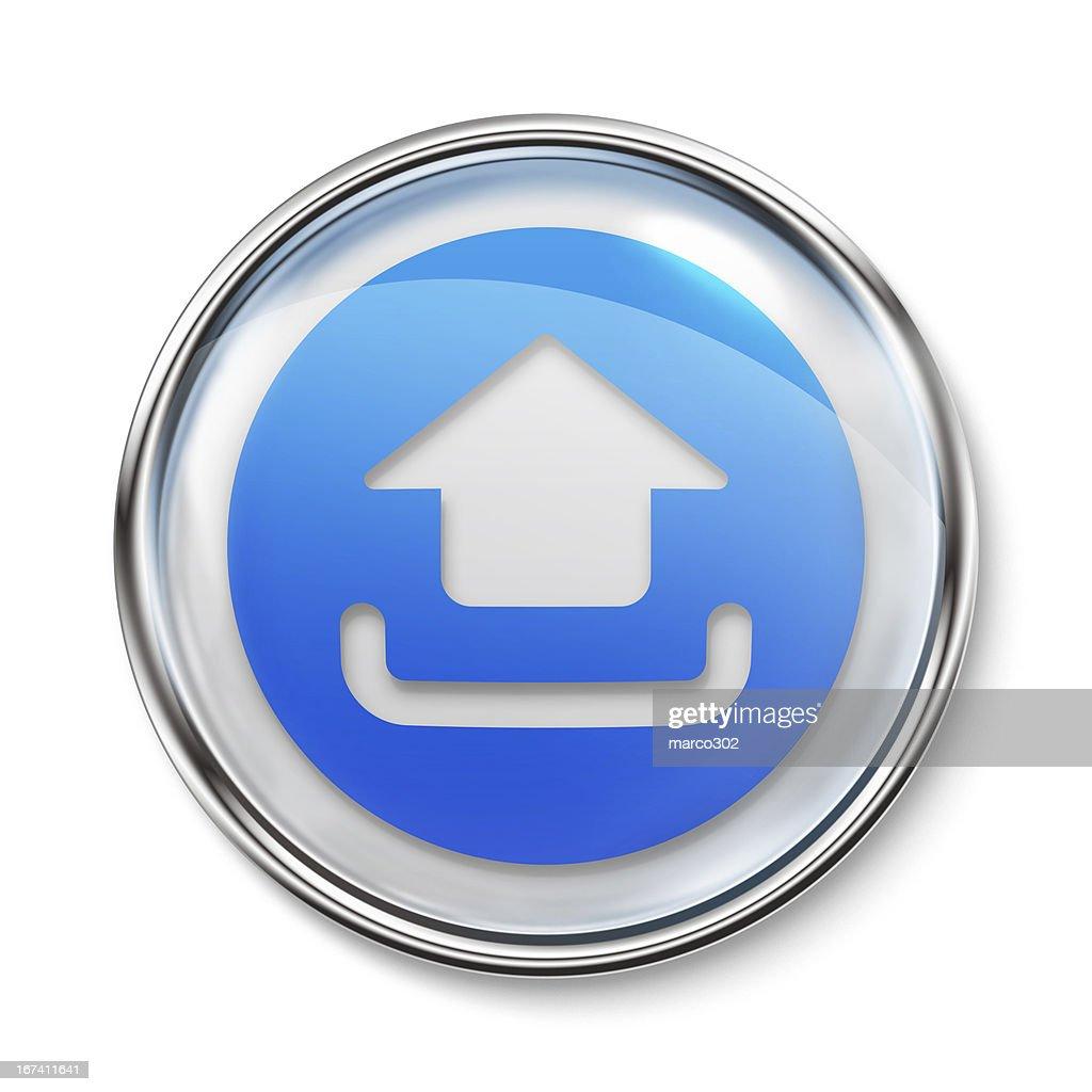 Icon - Upload : Stock Photo