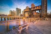 Long Island City, Famous Place, River, Skyscraper, USA