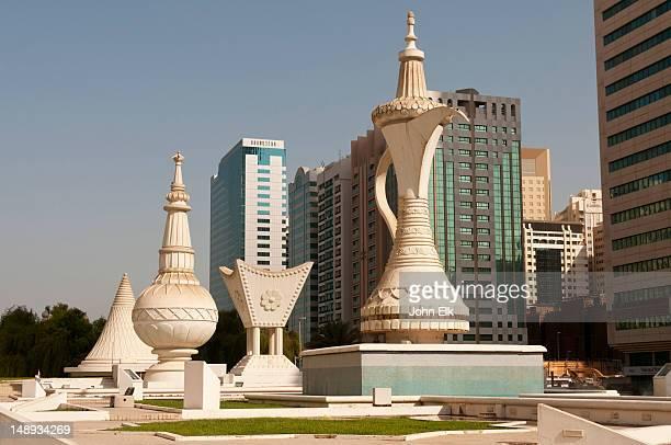 Iconic monuments.