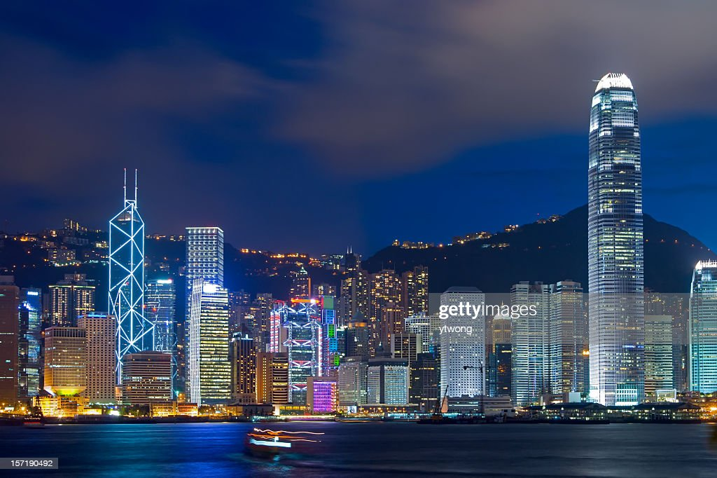 <b>Hong Kong City</b> Streets At <b>Night</b> Editorial Stock Photo - Image ...