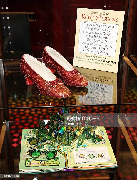 Ruby slippers stock photos and pictures getty images - Wizard of oz doorstop ...