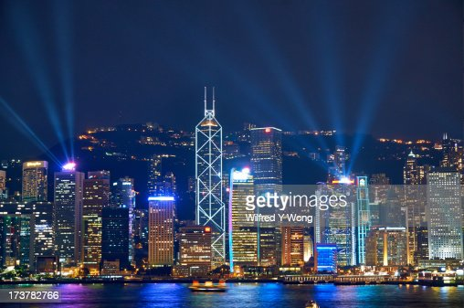 Iconic scene of Hong Kong
