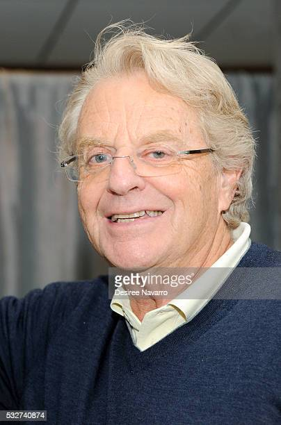 Iconic television host Jerry Springer attends AOL Build Presents Jerry Springer to discuss 25 years of his TV show on May 19 2016 in New York New York