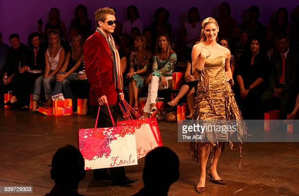 Icons of Style fashion launch at Swan Lake Studios in South Yarra today Picture by Pat Scala pds Wedensday the 1st of March 2005 THE AGE NEWS Picture...