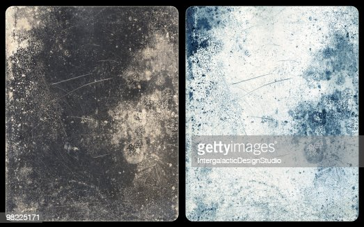 Icy Metal Backgrounds (with Clipping Paths)