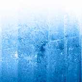 Icy winter background