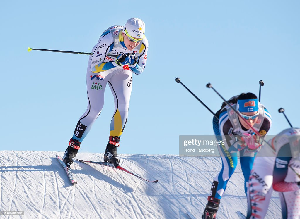 <a gi-track='captionPersonalityLinkClicked' href=/galleries/search?phrase=Ida+Ingemarsdotter&family=editorial&specificpeople=5640296 ng-click='$event.stopPropagation()'>Ida Ingemarsdotter</a> of Sweden during Cross Country Ladies 10.0 Pursuit Free on March 04, 2016 in Quebec, Canada .