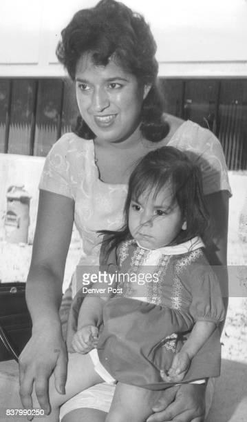 Ida May Gracia Oralia Gracia left the hospital Tuesday her left arm still intact Mrs Ida May Gracia 7720 Oneida St Commerce City holds her daughter...