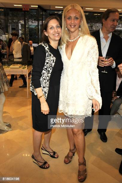 Ide Gangoor and Danna Hammond Stubgen attend Book Party for THE SUMMER WE READ GATSBY by Danielle Ganek at Dennis Basso on June 2 2010 in New York...
