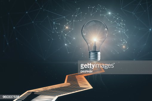 Idea and innovation concept : Stock Photo