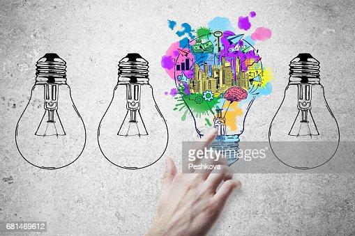 Idea concept : 스톡 사진