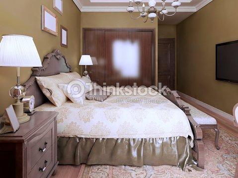 Idée De Chambre À Coucher Moderne De Style Anglais Photo - Thinkstock