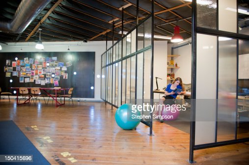 idea/brainstorming room, graphic design office : Foto stock