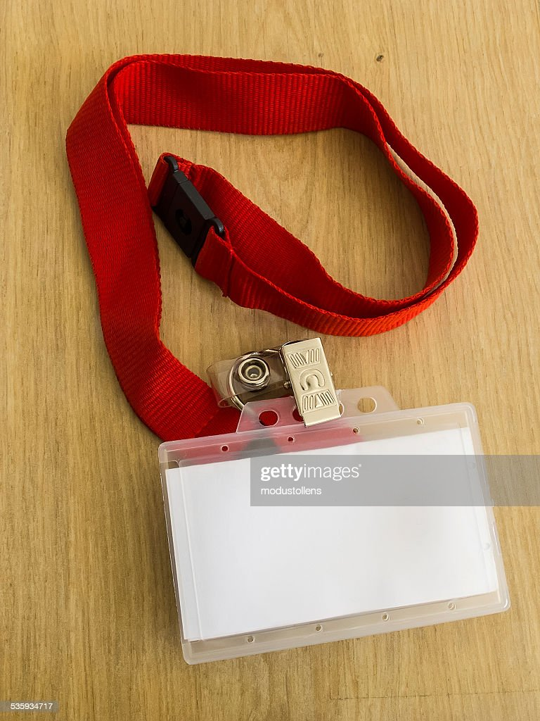 Identity card : Stock Photo