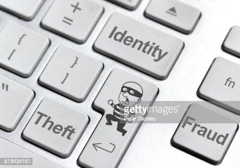 Identity theft keyboard