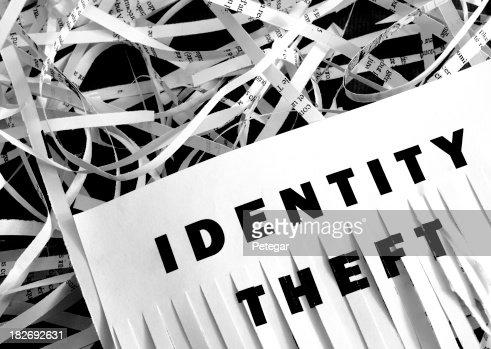 Identity Theft - Shredding