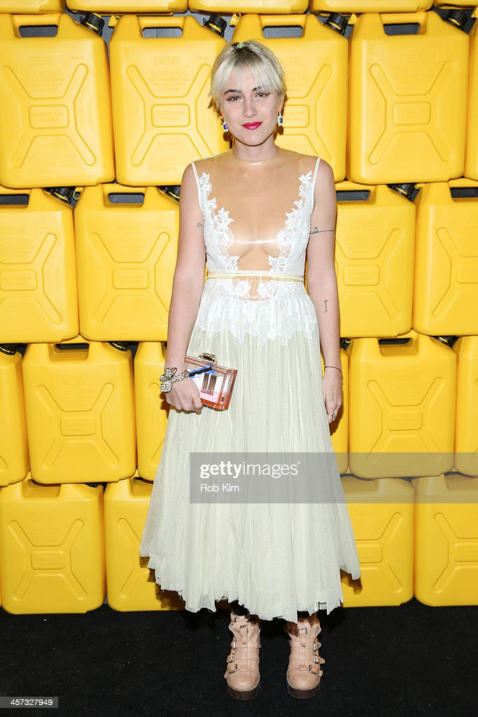 Idil Tabanca, editor-in-chief of BULLETT magazine attends the 8th annual charity: ball Gala at the Duggal Greenhouse on December 16, 2013 in the Brooklyn borough of New York City.