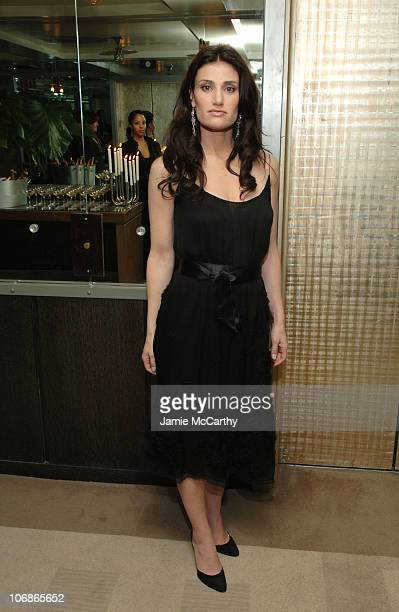 Idina Menzel at the Cinema Society/Piaget Premiere of 'Ask the Dust' Afterparty