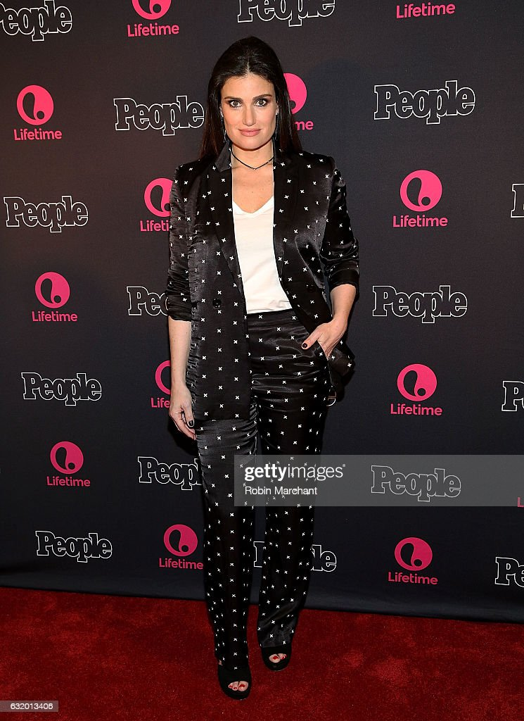 Idina Menzel attends Lifetime's 'Beaches' New York Screening at AMC Empire 25 theater on January 18, 2017 in New York City.