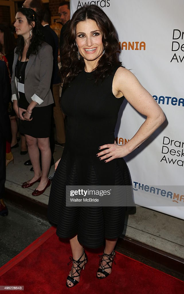 <a gi-track='captionPersonalityLinkClicked' href=/galleries/search?phrase=Idina+Menzel&family=editorial&specificpeople=213583 ng-click='$event.stopPropagation()'>Idina Menzel</a> attends the 2014 Drama Desk Awards at Town Hall on June 1, 2014 in New York City.